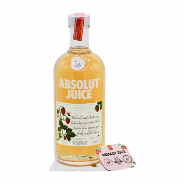 Absolut Juice Strawberry Edition Flavored Vodka 750 ML - Sendgifts.com