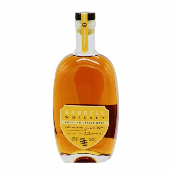 Barrell Whiskey American Vatted Malt 117.5 Proof - sendgifts.com