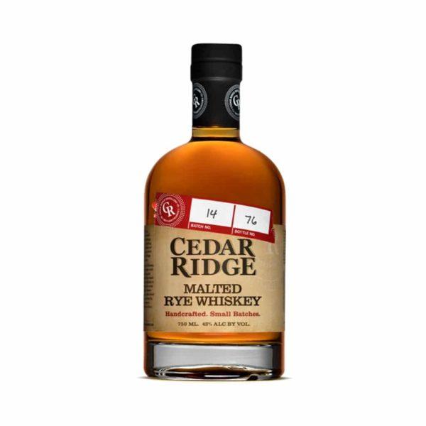 Cedar Ridge Iowa Rye Whiskey - sendgifts.com