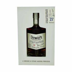 Dewar's Double Double 27 Year Old Scotch Whisky 375 Ml - sendgifts.com