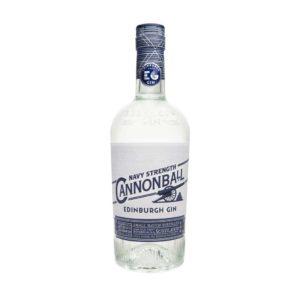 Edinburgh Gin Cannonball Navy Strength - Sendgifts.com
