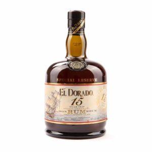 El Dorado 15 Year Old Rum - sendgifts.com