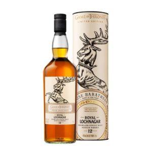 "Game Of Thrones Royal Lochnagar 12 Year Old ""House Baratheon"" Single Malt Scotch Whisky - sendgifts.com."