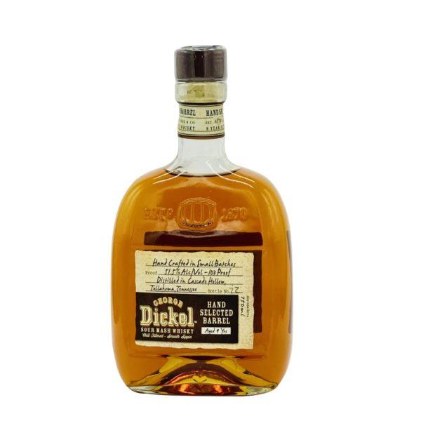 George Dickel 9 Years Old 103 Proof Sour Mash Whisky - sendgifts.com