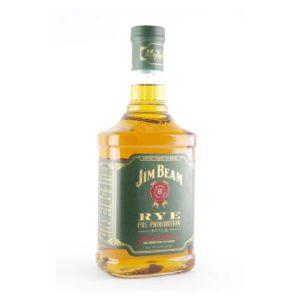 Jim Beam Rye Whiskey 90 Proof Pre-prohibition Style 750 ML - Sendgifts.com