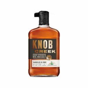 Knob Creek Cask Strength Rye Whiskey 119.6 Proof - Sendgifts.com