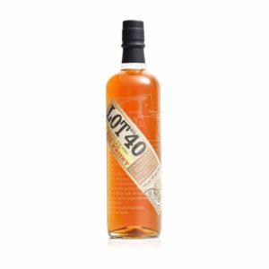 Lot 40 Rye Whiskey 750 ML - Sendgifts.com