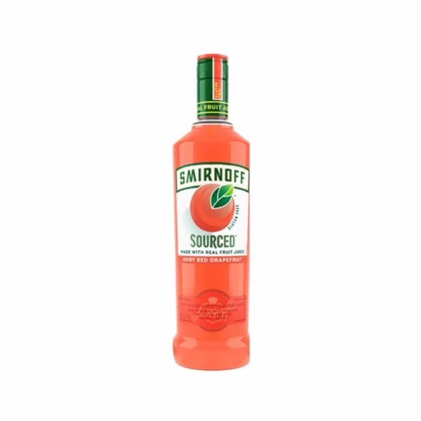 Smirnoff Vodka Sourced Grapefruit - Senfgifts.com
