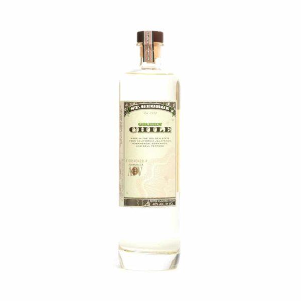 St. George Green Chile Vodka - Sendgifts.com