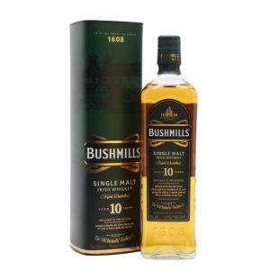Bushmills 10 yr old Irish Whiskey Ireland 750ml - Sendgifts.com