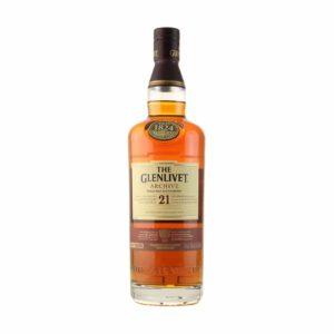Glenlivet Archive 21 yr old Single Malt Scotch Whisky Scotland 750ml - Sendgifts.com