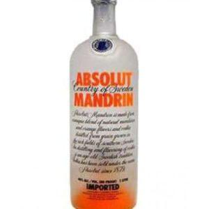 Absolut Mandarin Vodka - Sendgifts.com