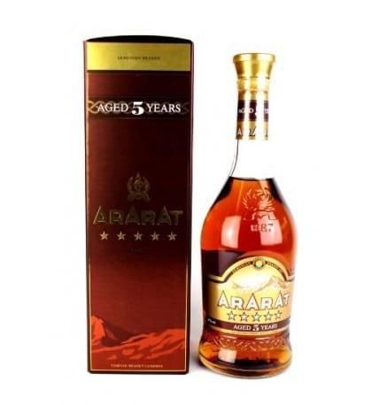 Ararat 5 year old brandy - Sendgifts.com