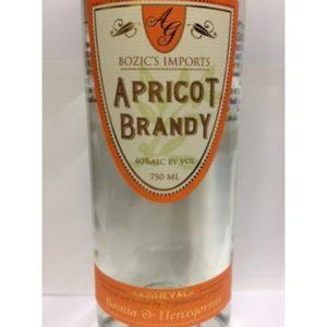 Bozic's Kajsijevaca Apricot Brandy - Sendgifts.com