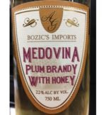 Bozic's Medovina Plum Brandy With Honey - Sendgifts.com