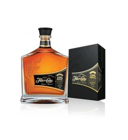 Flor De Cana Centenario 25 Year Single Estate Rum - Sendgifts.com