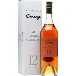 Francis Darroze Armagnac Les Grands Assemblages 12 Year - Sendgifts.com