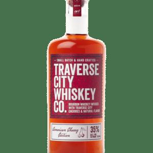 Traverse City Whiskey CO. American Cherry Edition - Sendgifts.com