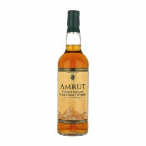 Amrut Peated Indian Single Malt Whisky - Sendgifts.com