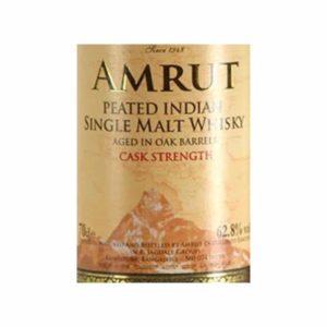 Amrut Peated Indian Single Malt Whisky Cask Strength - Sendgifts.com