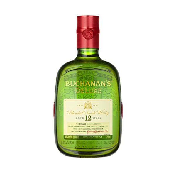 Buchanan's DeLuxe Blended Scotch Whisky 12 year old - Sendgifts.com