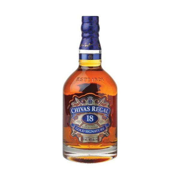 Chivas Regal Blended Scotch Whisky 18 year old 1L - Sendgifts.com