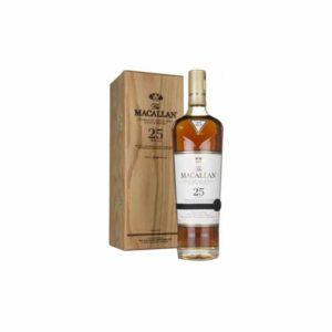 Macallan Sherry Oak Single Malt Scotch Whisky 2018 25 year old - Sendgifts.com