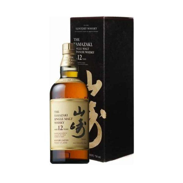 Suntory The Yamazaki Single Malt Whisky 12 year old - Sendgifts.com