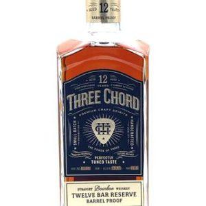 "Three Chord 12 Year Old ""Twelve Bar Reserve"" Bourbon Barrel Proof - Sendgifts.com"