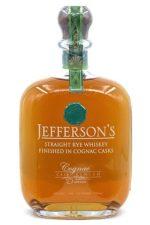 Jefferson's Straight Rye Whiskey Finished In Cognac Cask - Sendgifts.com