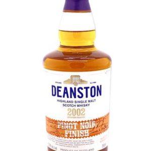 "Deanston 17 Year Old ""Pinot Noir Cask Finish"" Vintage 2002 Single Malt Scotch Whisky - Sendgifts.com"
