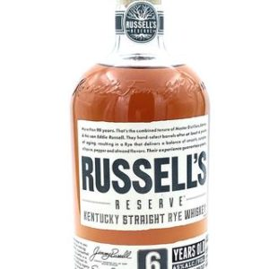 Russell's Reserve 6 Year Old Rye Whiskey - Sendgifts.com