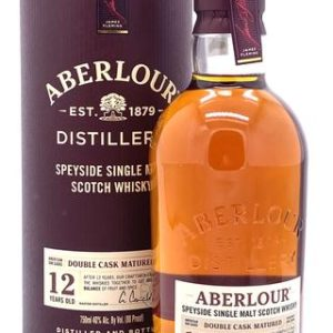 Aberlour 12 Year Double Cask Matured Speyside Single Malt Scotch Whisky - Sendgifts.com