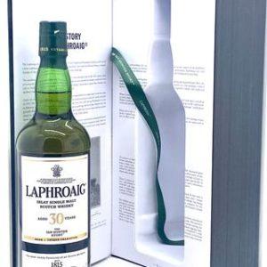 "Laphroaig 30 Year ""Ian Hunter Story - Book 1"" Islay Single Malt Scotch Whisky - Sendgifts.com"
