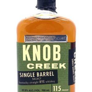 "Knob Creek Cask Single Barrel ""Select"" Rye Whiskey 115 Proof - Sendgifts.com"