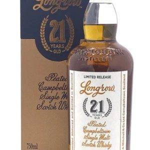 Longrow 21 Year Old Single Cask Peated Scotch Whisky - Sendgifts.com