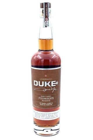 Duke Founder's Reserve Double Barrel Rye Whiskey - Sendgifts.com
