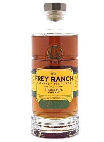 Frey Ranch Straight Rye Whiskey nose palate - Sendgifts.com