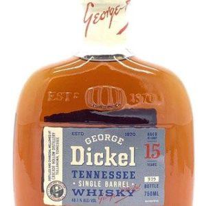 George Dickel 15 Years Old Single Barrel Tennessee Whisky - Sendgifts.com