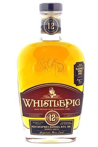 """Whistlepig 12 Year Old Guyanese Rum Cask """"Blackwell's Bespoke Barrel"""" Rye Whiskey - Sendgifts.com"""
