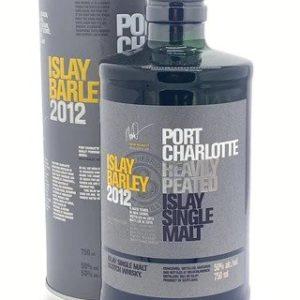 "Bruichladdich Port Charlotte Vintage 2012 ""Islay Barley Heavily Peated"" Single Malt Scotch Whisky - Sendgifts.com"