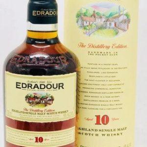 Edradour 10 Year Old Scotch Whisky - Sendgifts.com