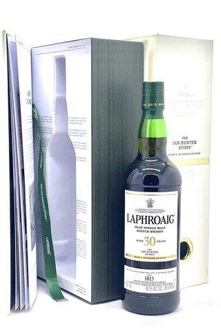 "Laphroaig 30 Year ""Ian Hunter Story - Book 2"" Islay Single Malt Scotch Whisky - Sendgifts.com"