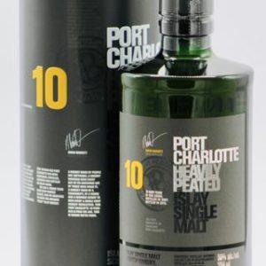 "Bruichladdich Port Charlotte 10 Year Old ""Heavily Peated"" Single Malt Scotch Whisky - Sendgifts.com"