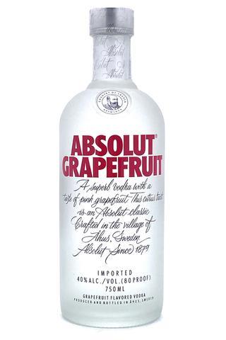 Absolut Grapefruit flavored Vodka 750 ml