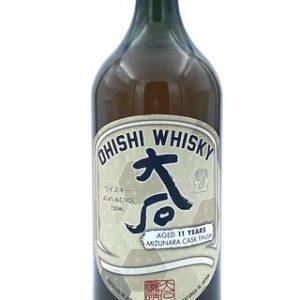 Ohishi 11 Year Old Mizunara Cask Japanese Whisky - Sendgifts.com