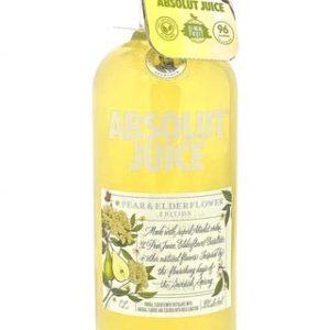 "Absolut Juice ""Pear & Elderflower"" Edition Flavored Vodka 1000 ml"
