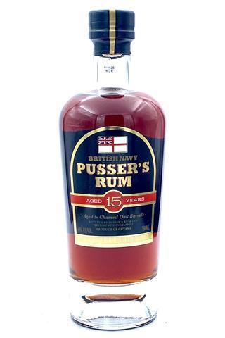 Pusser's British Navy Rum Aged 15 Years