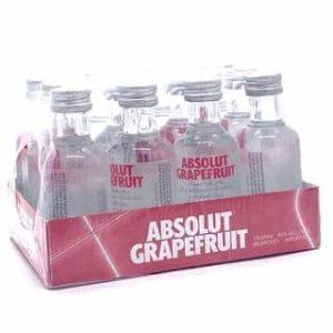 Absolut Grapefruit Vodka 12 x 50 ml