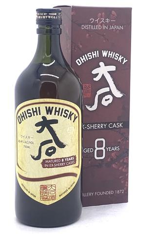 Ohishi 8 Year Old Sherry Cask Japanese Whisky - Sendgifts.com